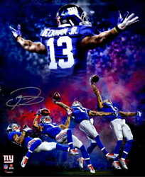 10009 Odell Beckham Jr One Hand Catch Football Sports Laminated Poster Ca