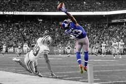 10090 Odell Beckham Jr One Hand Catch Football Sports Laminated Poster Ca