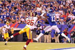 13881 Odell Beckham One Handed Catch Nfl Football Laminated Poster Ca