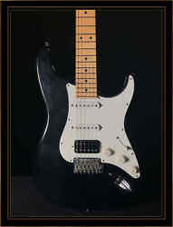 Suhr Classic S Antique Hss With Maple Fretboard In Black