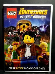 LEGO: The Adventures of Clutch Powers First Lego Movie DVD 2010 New Sealed $8.50