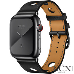 Series 6 44mm Apple Watch Hermandegraves Space Black With Noir Gala Rallye Sold Out