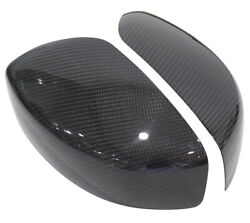 Carbon Fiber Direct Add-on Side Mirror Cover For 09-15 Infiniti G25 G37 Q40 Q60