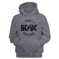 Acdc Malcolm Angus Young Classic Rock Band Guitarist Adult Hoodie Sweatshirt B