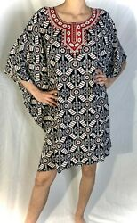 Kaftan Dress Caftan Beach Cover Boho Gown Hippie Beach Women African $13.00