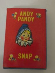 1962 Andy Pandy Snap Card Game Complete Ariel Productions Rare