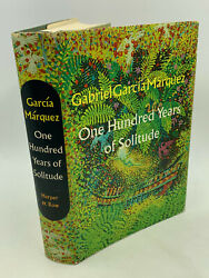 Gabriel Garcia Marquez One Hundred Years Of Solitude 1st Am Ed, 1st Printing