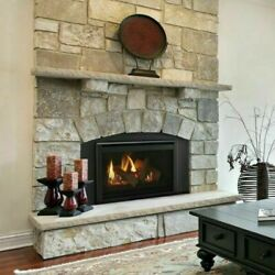 Majestic Ruby 30 Medium Natural Gas Insert Fireplace Ruby30in W Remote And Blower
