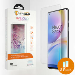 Ultimate Shield Liquid Glass Screen Protector For Oneplus 8 Pro 2 Pack