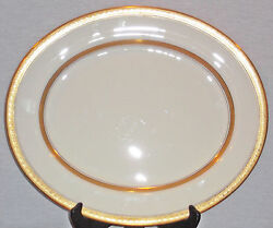 Rare Discontinued Royal Worcester Coronet Pattern 15 1/2 Oval Platter Mint