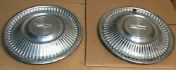 1968 And Other Ford Fairlane 500 Oem 14 Hub Cap Wheel Cover Pr