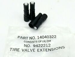 Nos Dill Tire Valve Stem Extensions Set Of 4 Gm Chevelle Corvette 1960and039s 1970and039s
