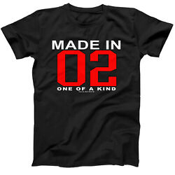19th Birthday Made In 2002 One Of A Kind Short Sleeve T-shirt Gift