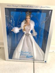 2003 Holiday Visions Barbie Special Edition First In The Series Never Opened