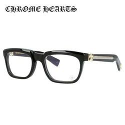 CHROME HEARTS SEE YOU IN TEA BK-GP 53 Black Square Glasses Frame Regular Fit
