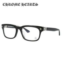 CHROME HEARTS VAGILANTE BK 54 Regular Fit Black Square Glasses Fra
