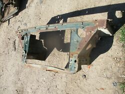 67-76 Demon Valiant Radiator Core Support W/ A Foot Of Inner Fender Sections Oem