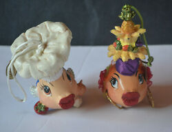 Vintage Katherines Collection Christmas Ornaments -2
