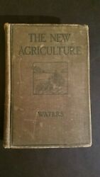 Essentials Of The New Agriculture By Henry Waters - Vintage 1924 Farm Dairy