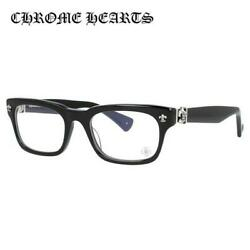 CHROME HEARTS GITTIN ANY? BK 49 Black Square Regular fit Glasses Frame