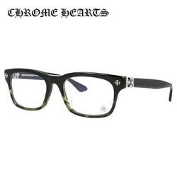 CHROME HEARTS VAGILANTE BMZ 54 Black Square Regular Fit Glasses Frame