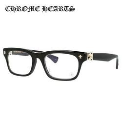 CHROME HEARTS GITTIN ANY? -A BK-GP 52 Asian Fit Black Square Glasses Frame