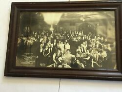 Roaring 1920's Large Photo Reception Dinner By Gardiner 1929 Count Carlo Blue