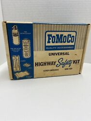 Vintage Nos 1967 Ford Universal Highway Safety Kit C7az-19f515-a Rare Shelby
