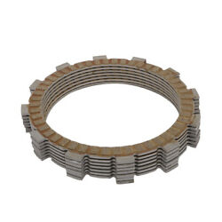 Motorcycle 7pcs Clutch Plates Paper Base Bonded Alloy For F650gs New