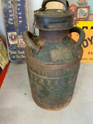Vintage Sinclair 5 Gallon Gas Can 1920and039s Green Gas Oil