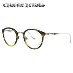 CHROME HEARTS DIG BIG BOS  AS 45 Boston Tortoiseshell pattern Glasses Frame