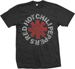 RED HOT CHILI PEPPERS Vintage Logo T SHIRT S M L XL 2XL Brand New Official