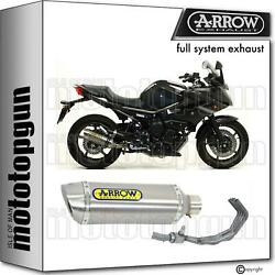 Arrow Homcat Full System Exhaust Thunder Titanium Yamaha Xj6 Diversion 09/15