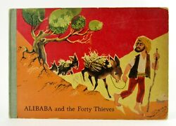 Alibaba And The Forty Thieves Pop Up Book 1960 Bancroft And Co. Artia Ali Baba L1