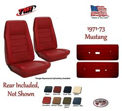Seat Upholstery And Door Panel Set 1971 - 73 Mustang Convertible By Tmi Any Color