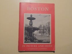 Boston in Picture amp; Story vintage booklet 1956