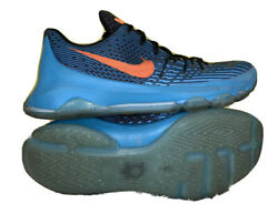 Youth Nike Kd 8 Gs Okc Blue Lagoon Basketball Shoes 768867-480 Size 7y