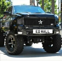 Private Number Plate Eddie Hall Ed Hall Bodybuilding Strong Man Gym