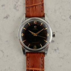 Vintage C.1954 Omega Seamaster Automatic Ref.2767-10sc Cal.Ω 384 Watch In Steel