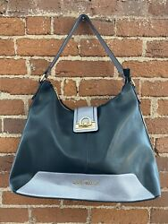 Black and Pewter Amilla Hobo and Wallet $27.00