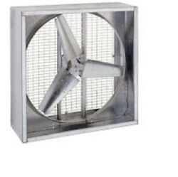 New 48 Direct Drive Agricultural Box Fan 230v 1 Hp Motor - 3 Phase