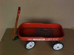 Vintage Amf Junior 5x Red Pull Wagon Kids Toys Made In The U.s,a. Photo Shoot