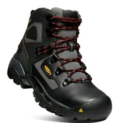 Keen St. Paul 6 Wp Carbon-fiber Toe Style 1021351 Work Boot Menand039s All Sizes