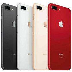 Apple Iphone 8 Plus 64gb / 256gb Fully Unlocked Smartphone 4g Lte