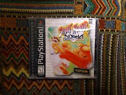 Street Fighter Alpha Warriors' Dreams Brand New Factory Sealed Playstation 1 Ps1