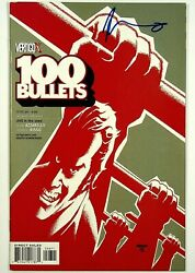 100 Bullets 46 Signed By Brian Azzarello Dc Comics