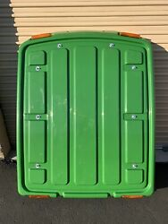 John Deere Tractor Complete Cab Roof With Liner And Lights.