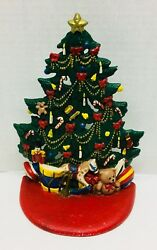 8 1/4 Midwest Cast Iron Christmas Tree Toys Door Stop Midwest Of Cannon Falls