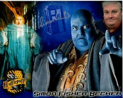 Simon Fisher-becker Hand-signed Doctor Who 8x10 Color Montage W/ Uacc Rd Coa