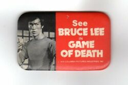 Original 1979 Columbia Pictures Bruce Lee Game Of Death Pin